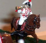 Trumpeter of the Prussian cuirassiers
