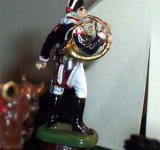 Prussin infantry. Musician