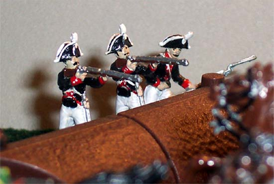 Prussin infantry.