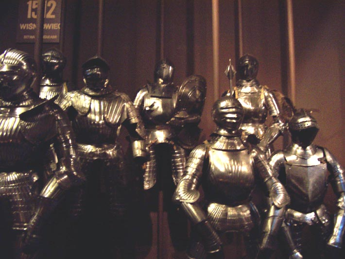 Knight armours.