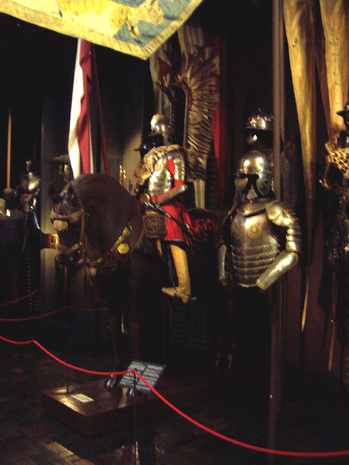 Armour of the winged hussars. XVII century.