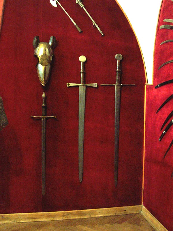 Armours and swords