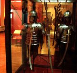 Winged hussar armours and sabres. XVII c.