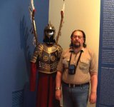 It's me near this armour.